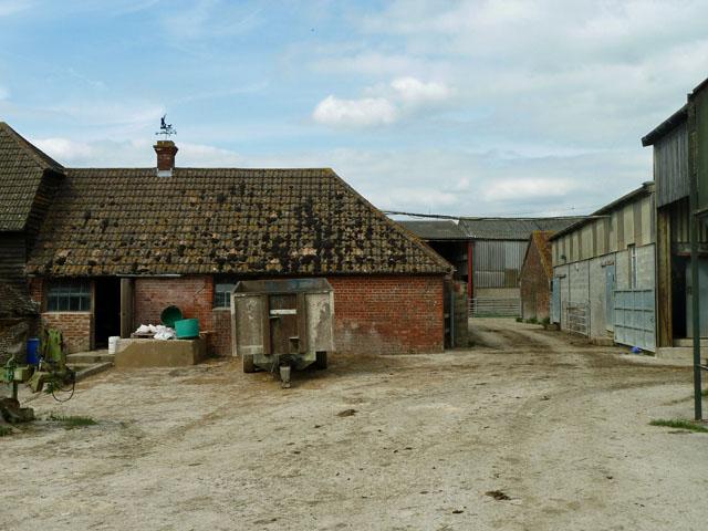 Farmyard, Burchett's Farm