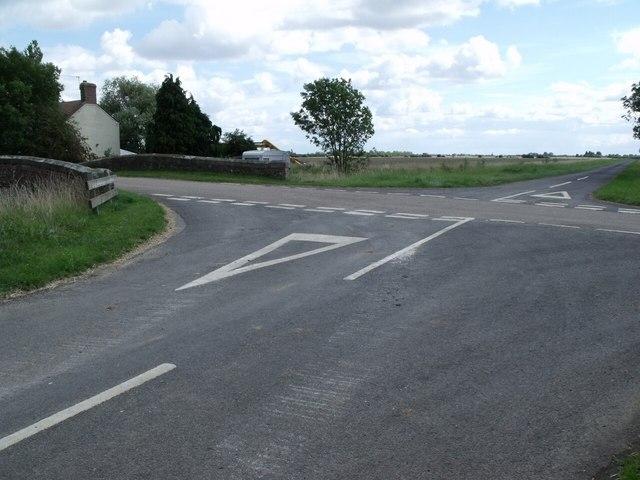 Junction of Castle Dyke Lane and Mill lane
