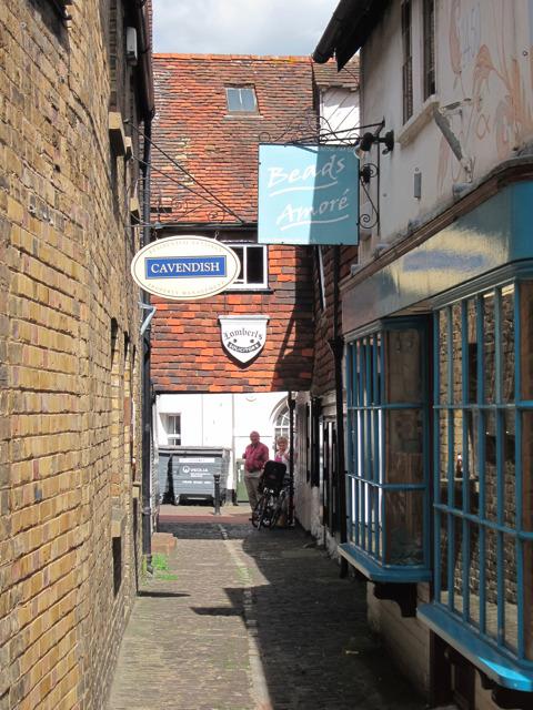Alley way to Dorset Street