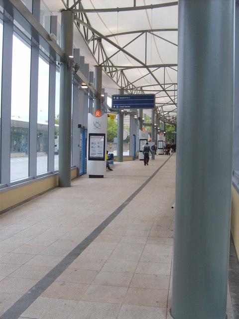 New Bus Station Interior