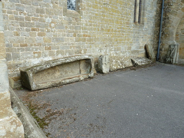 Saxon coffin and other artefacts at St James Stedham