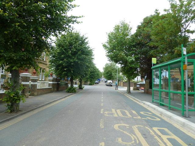 Bottom end of Victoria Road