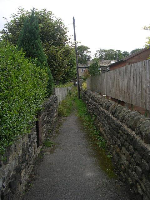 Footpath - New Road Side