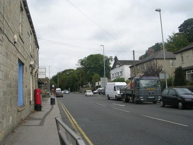 Harrogate Road - from Rawdon Cross Roads