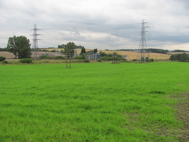 Field and substation, Fishcross