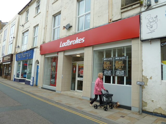 Ladrokes in Sandown High Street