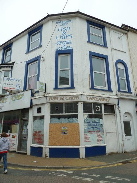 Closed chippie in Sandown