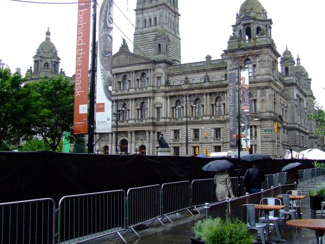 Philadelphia street scene in Glasgow