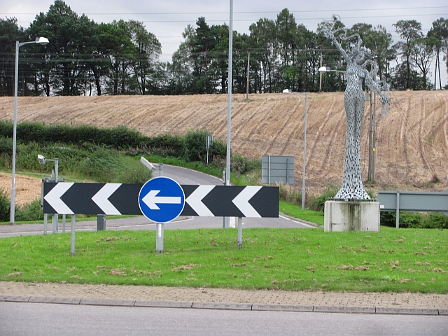Not so new roundabout