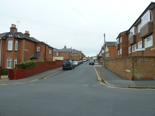 Looking from Well Street into Millward Street