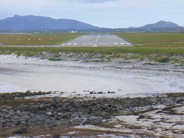 Runway at Benbecula Airport