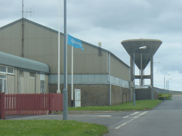Water Tower, Benbecula Airport