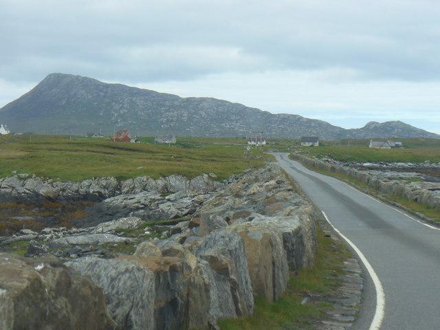 Road on Eilean na h-Airigh