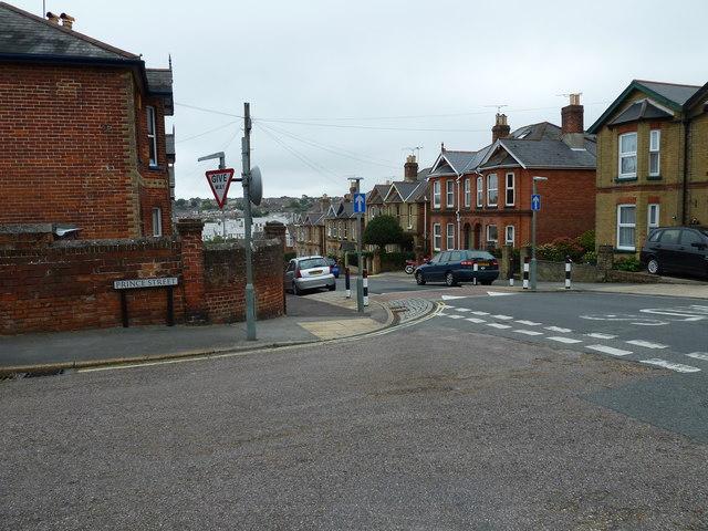 Prince Street/Well Street junction