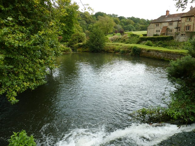 Weir on the River Rother