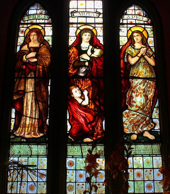 Faith, Hope & Charity window, Ford Kirk
