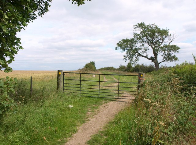 Gate on Leeds Country Way