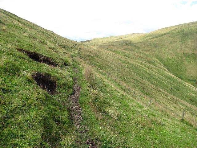 Path under Ben Ever