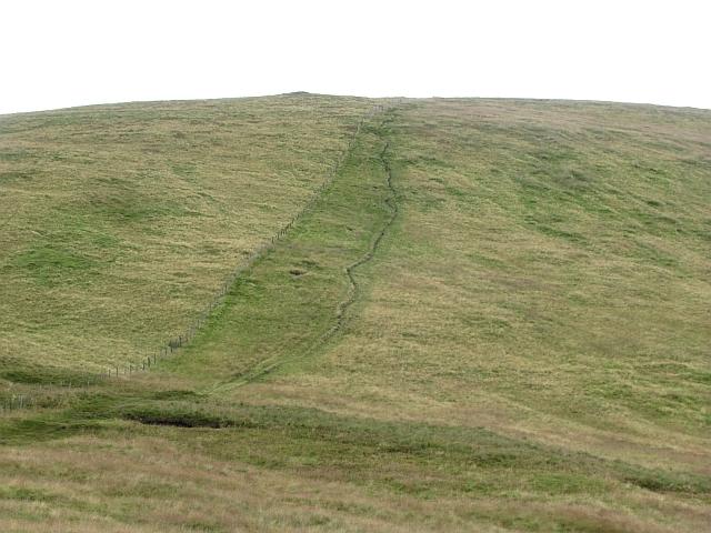 Path on Ben Cleuch