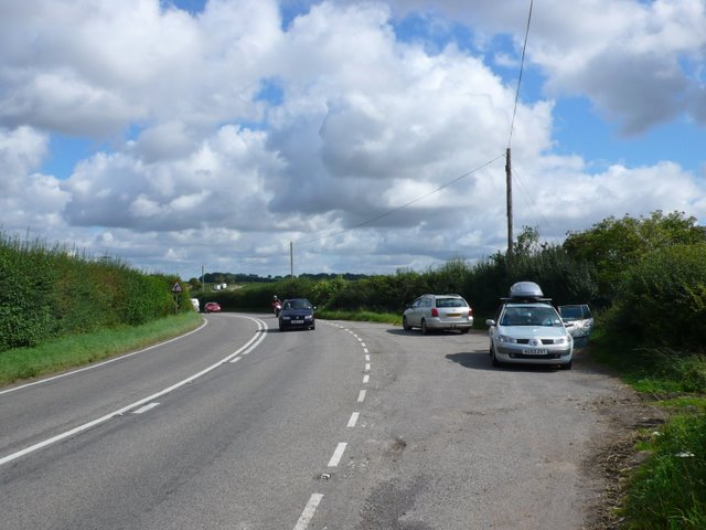 Lay-by on the A354