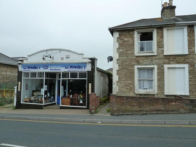 Charity shop in St John's Road