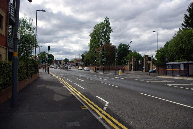 Bristol Road, Bournbrook, near Birmingham University's South Gate