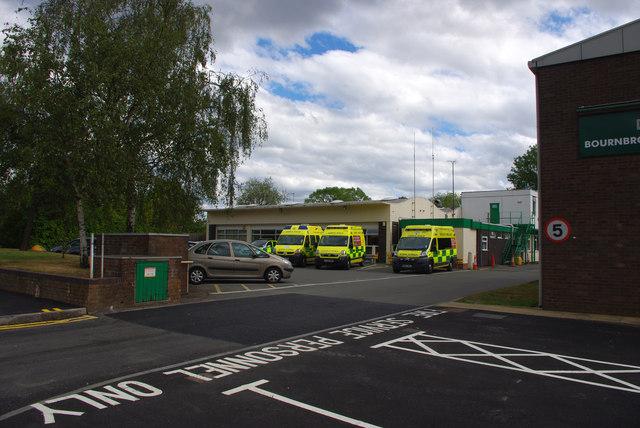 Bournbrook Ambulance Station, Bristol Road
