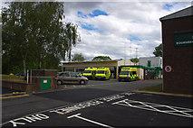 SP0583 : Bournbrook Ambulance Station, Bristol Road by Phil Champion