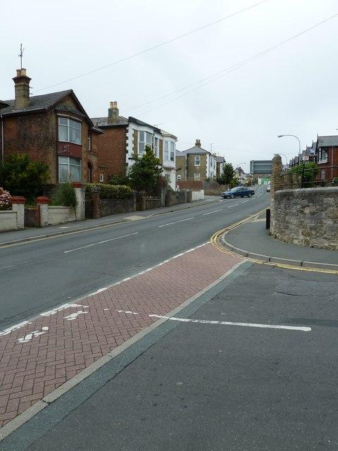 Looking from Benett Street into St John's Road