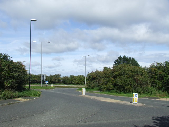 A690 slip road, East Rainton