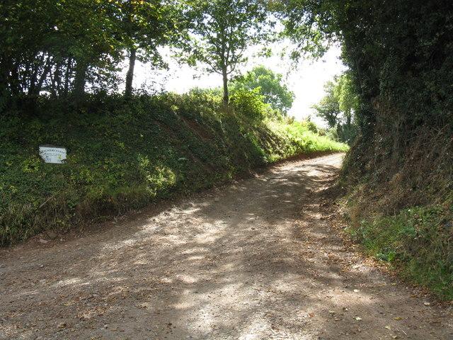 Track to Palmer's Farm