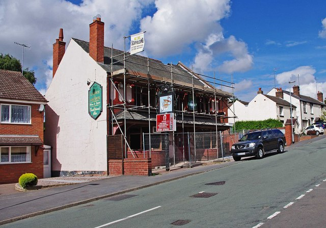 The former Crown & Anchor (1), 115A Enville Road, Kinver