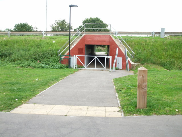 Red Underpass
