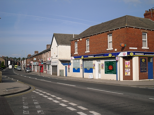 Wigton Road, Post Office and shops