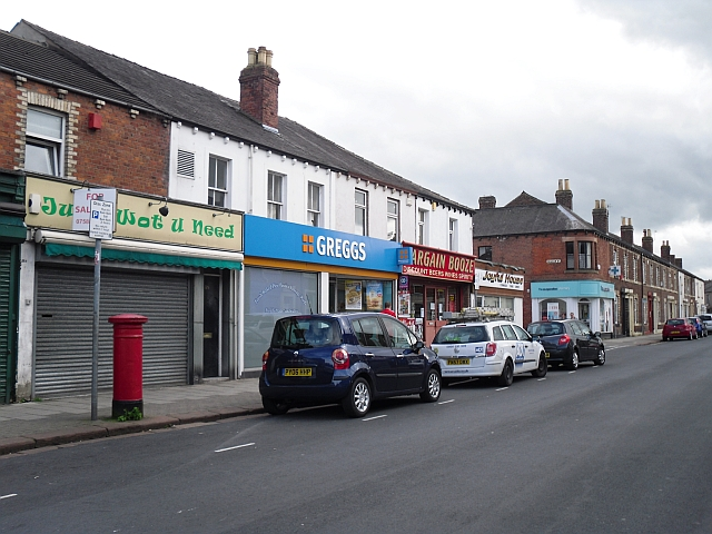 Shops, Denton Street