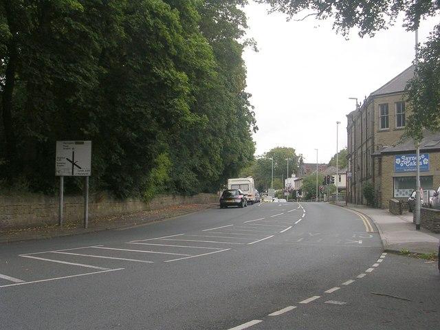 Micklefield Lane - viewed from Micklefield Road
