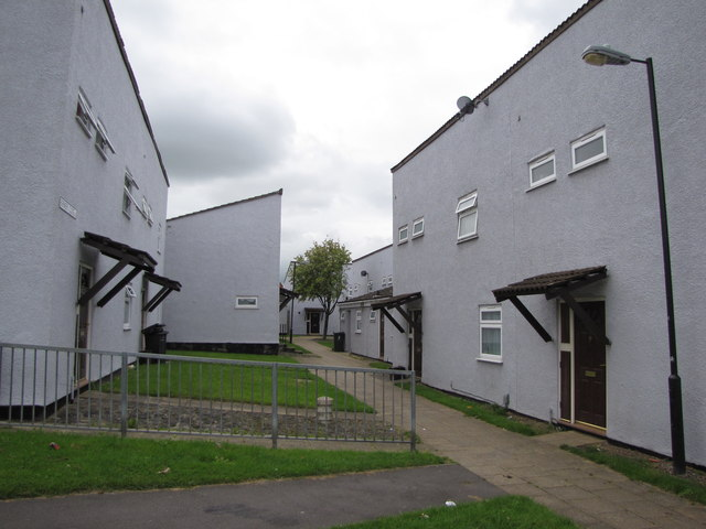 Typical housing at Inns Court, Knowle West, Bristol
