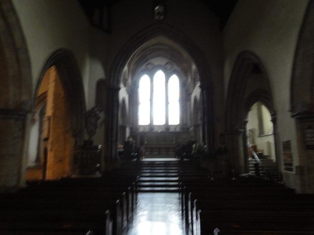 Hythe, Oak Walk, St Leonard's Church