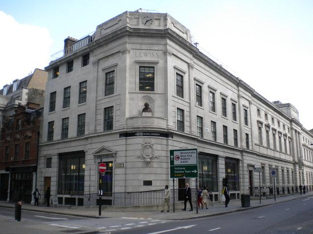 London's Global University, Gower Street W1