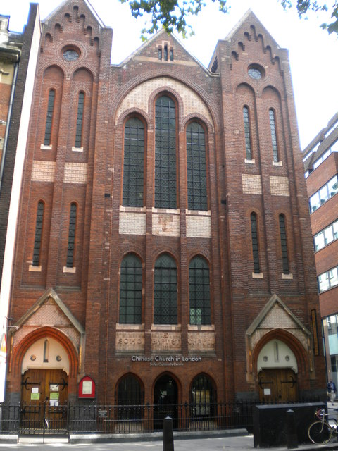 Chinese Church in London, Shaftesbury Avenue WC2