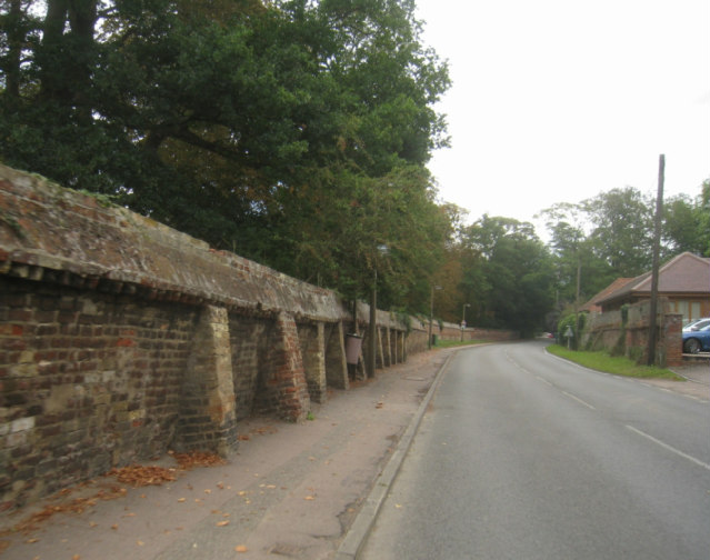 The Manor House wall