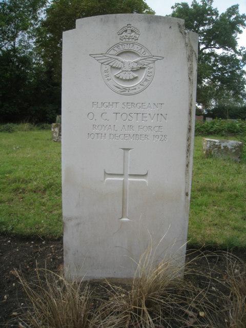 Flight Sergeant O.C. Tostevin