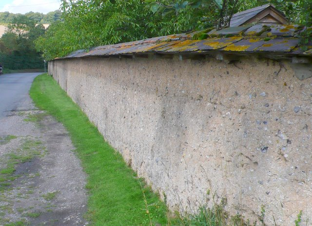 Woodford Mill Garden Wall