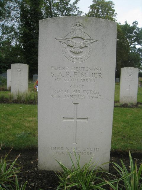 Flight Lieutenant  S.A.P. Fischer