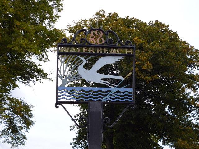 Waterbeach Village Sign