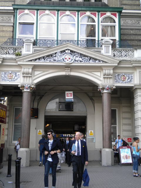 Entrance to Charing Cross Station, Strand WC2