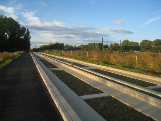 Operational guided busway