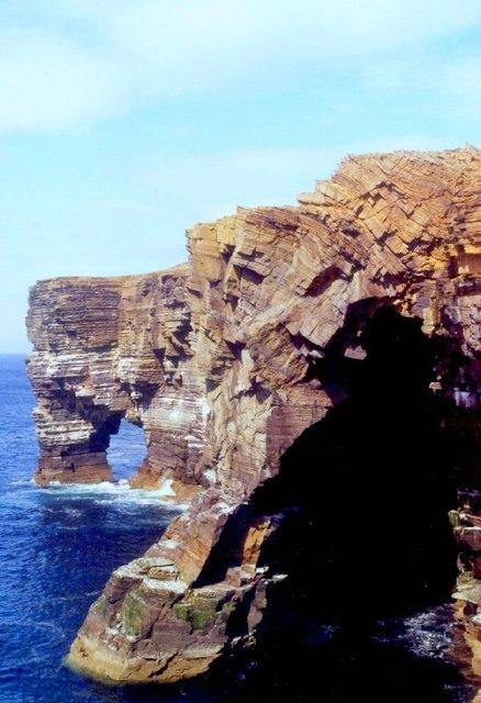 Natural Arch at Scabra Head