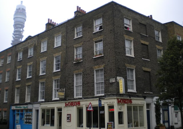 Lord's Indian Restaurant, Warren Street W1