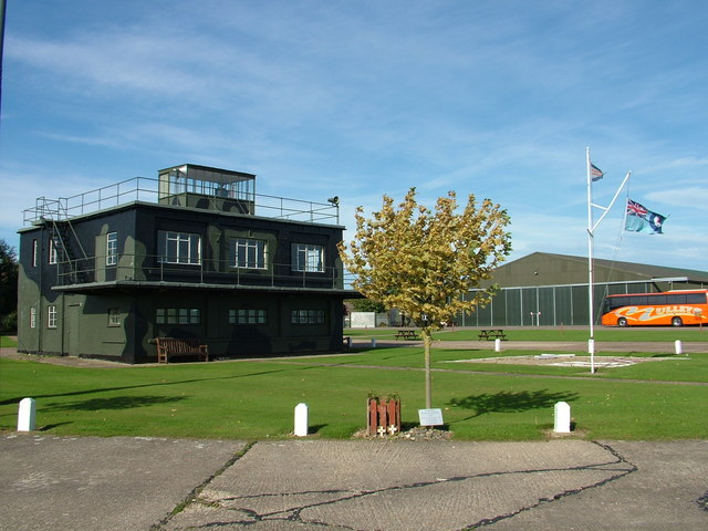 Control tower and hangar, East Kirkby